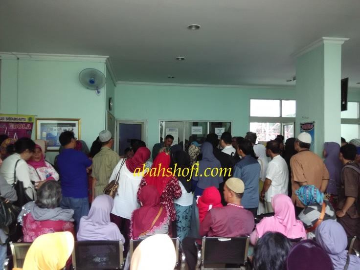 Suntik Meningitis di Bandara Soekarno Hatta