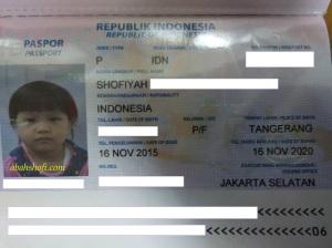 Pengalaman Buat Paspor Anak Bayi