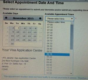 Cara membuat Visa Dependant UK