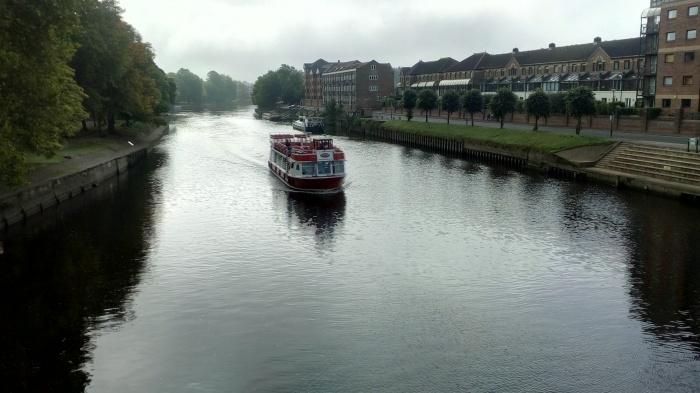 Mengenal Kota York, Ouse River York